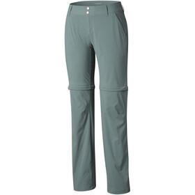 Columbia Saturday Trail II Convertible - Pantalones Mujer - regular verde